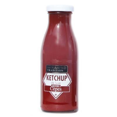 Ketchup de Luxe saveur Cèpes Savor et Sens Tradition