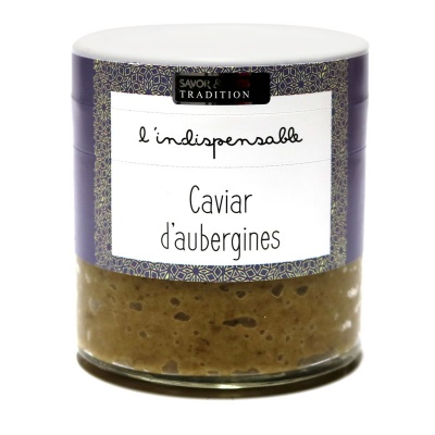 Caviar d'Aubergine - Savor et Sens -