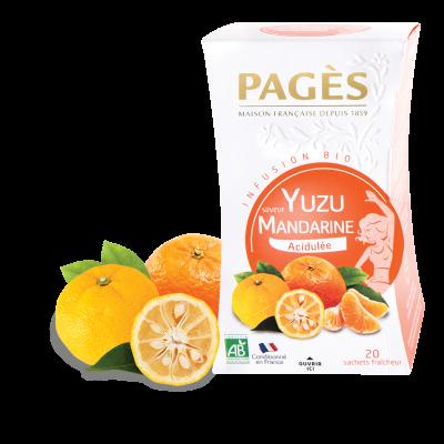 Infusion Yuzu Mandarine BIO Pagès