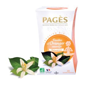 Infusion Feuilles d Oranger Sauvage Relaxation BIO Pagès