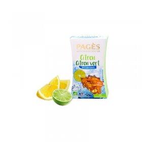 Infusion Glacée Citron Citron Vert BIO Pagès