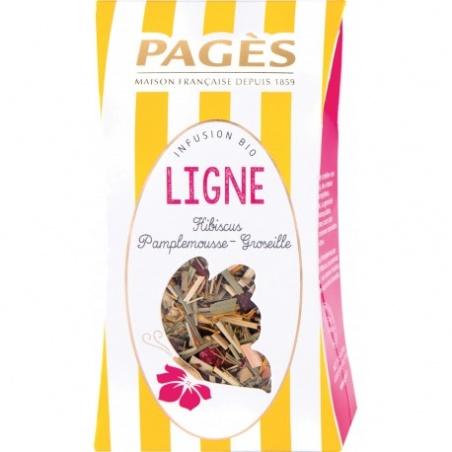 Infusion VRAC LIGNE Hibiscus Pamplemousse Groseille BIO Pagès