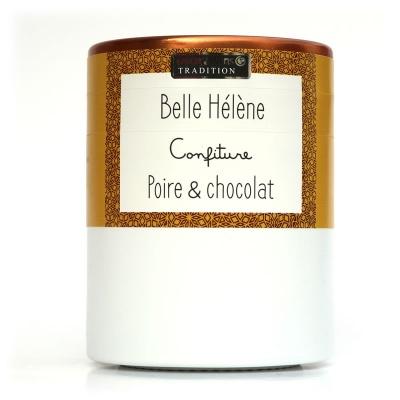 Confiture Belle Hélène Poire Chocolat Savor et Sens Tradition
