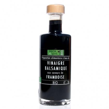 Vinaigre Balsamique Framboise  Bio 250 ml Savor et Sens