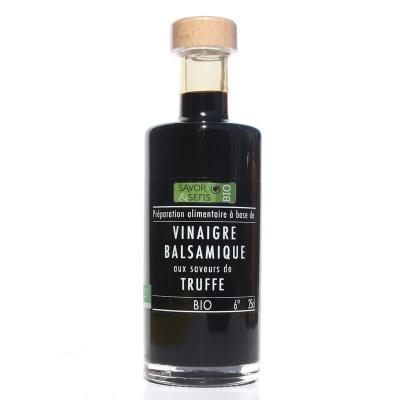 Vinaigre Balsamique arôme Truffe Bio 250 ml Savor et Sens