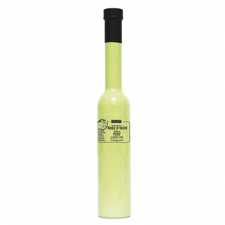 Huile d'olive Yuzu basilic thai 200 ml Savor et Sens
