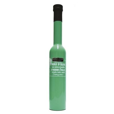Huile d'olive Herbes Folles 200 ml Savor et Sens
