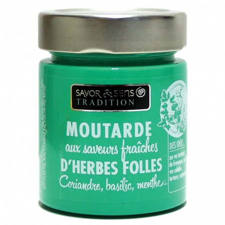Moutarde Herbes folles - Savor et Sens -