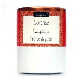 Confiture Surprise : Fraise et Yuzu Savor et Sens Tradition