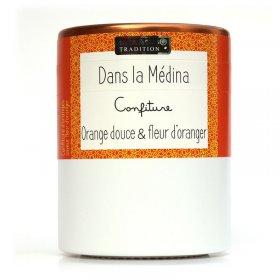 Confiture Dans la Médina : Orange Douce et Fleur d'Oranger Savor et Sens Tradition