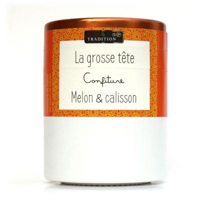 Confiture LA GROSSE TETE : Melon et Calisson Savor et Sens Tradition
