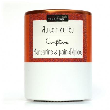 Confiture Au Coin du Feu Mandarine Pain d'épices Savor et Sens Tradition