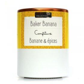 Confiture Baker Banana Banane épices Savor et Sens Tradition