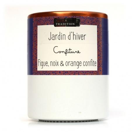 Confiture Jardin d'Hiver Figue Noix Orange Confite Savor et Sens Tradition