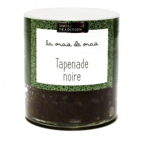 Tapenade Noire aux Herbes de Provence Savor et Sens Tradition