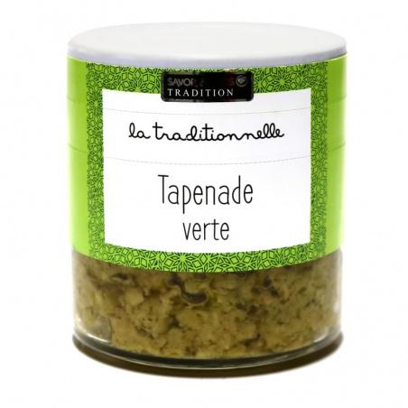Tapenade Verte au Basilic Savor et Sens Tradition