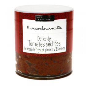 Délice de Tomate, Jambon de Pays et Piment d'Espelette - Savor et Sens -