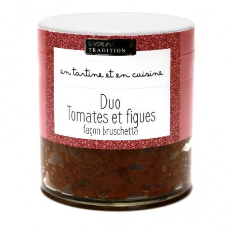Duo Tomates et Figues Façon Bruschetta - Savor et Sens -