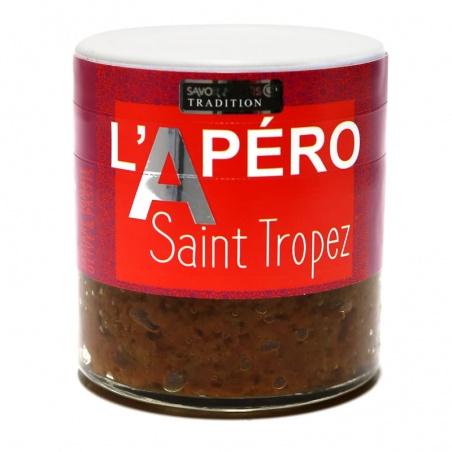 Apéro à St Tropez - Savor et Sens - tartare de tomate, olives et pastis