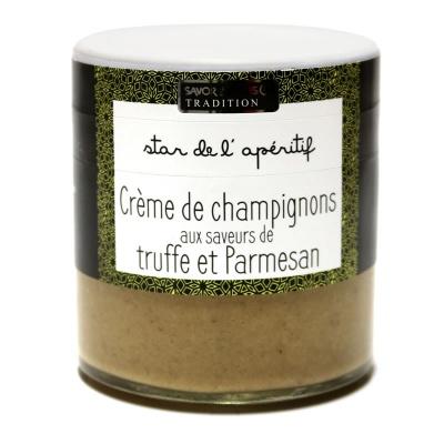 Crème de Champignons, éclats de Truffe et Parmesan - Savor et Sens -