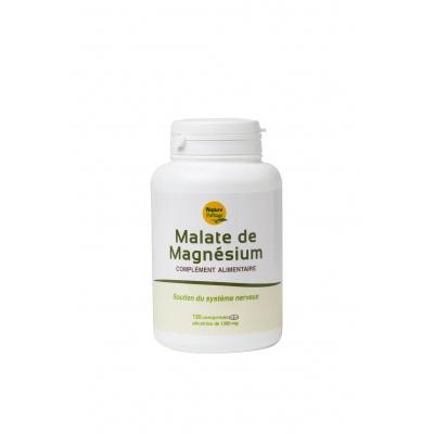 Magnésium Malate - 120 comprimés sécables - Nature et Partage