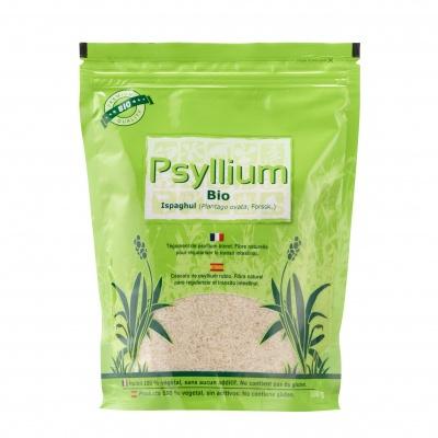 Psyllium BIO 300 g ECOCERT AB - sans gluten - Nature et Partage