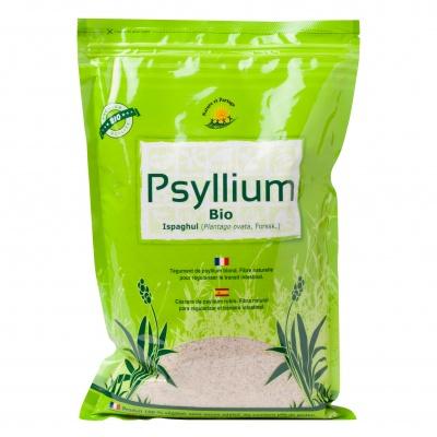 Psyllium BIO  1 kg ECOCERT AB - sans gluten - Nature et Partage