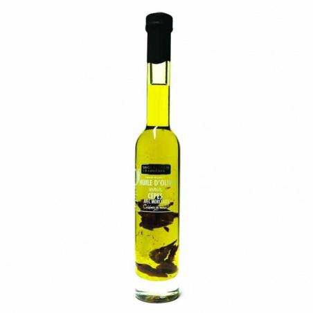 Huile d'olive saveur Cèpes et Morceaux Savor et Sens