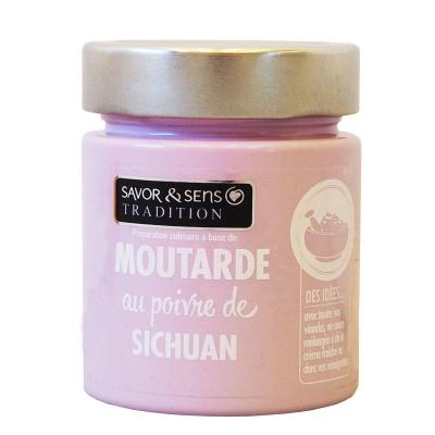 Moutarde Poivre de Sichuan - Savor et Sens -