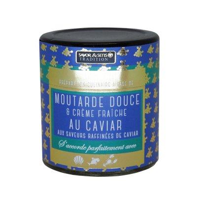 Moutarde  Impéraiale au Caviar - Savor et Sens -