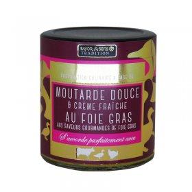 Moutarde  Impéraiale au Foie Gras - Savor et Sens -