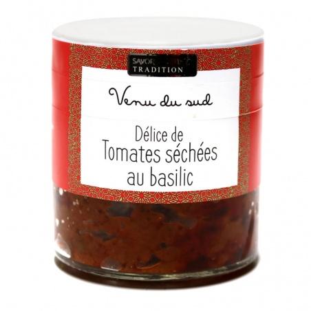 Délice de Tomate séchée au Basilic - Savor et Sens -