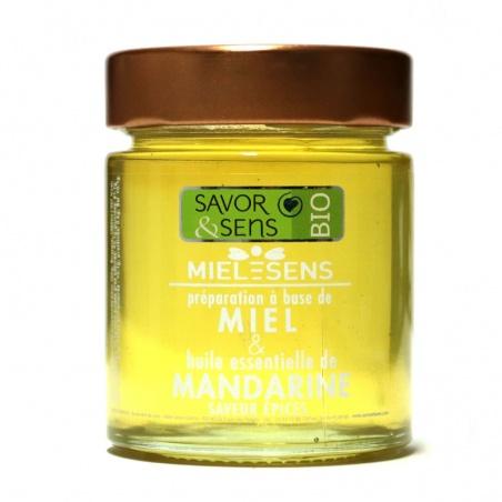 Miel Mandarine saveur épices Bio