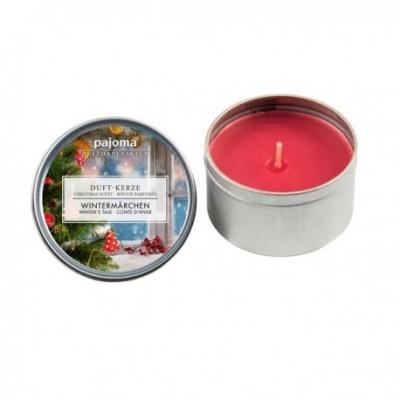 Mini Bougie Métal Parfum conte de Noël