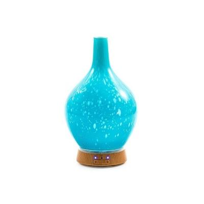 Diffuseur à huiles essentielles Aroma Flower bleu
