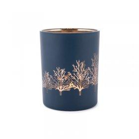 Photophore Arbre Tree Bleu Or Moyen modèle