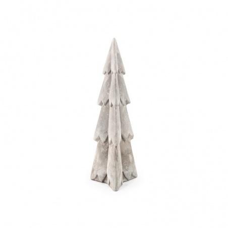 Sapin en ciment décoration h 25,40 cm
