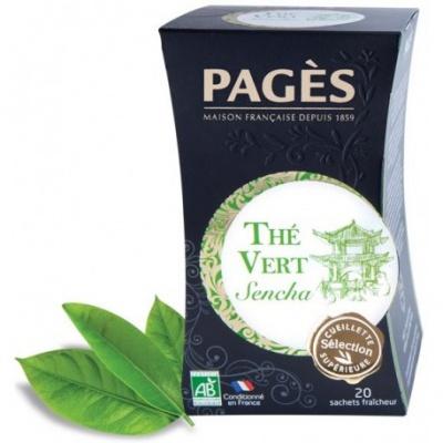 Thé Vert Sencha BIO Pagès