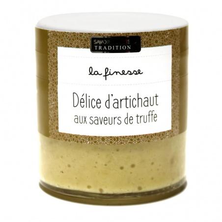 Délice d'artichauts aux saveurs truffe