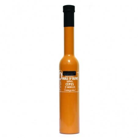 Huile d'olive au Cèpes et Morilles  200 ml Savor et Sens