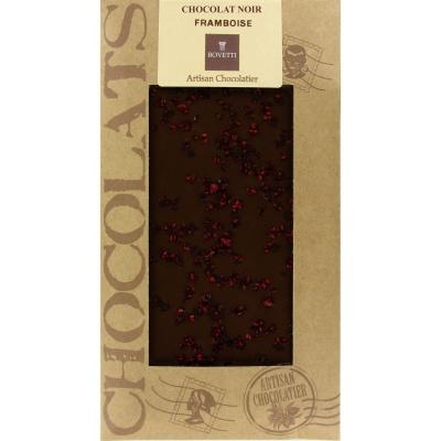 Mini Tablette Chocolat Noir Framboise Bovetti