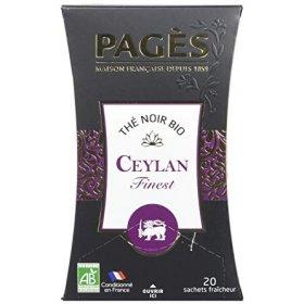 Thé Noir Ceylan BIO Pagès