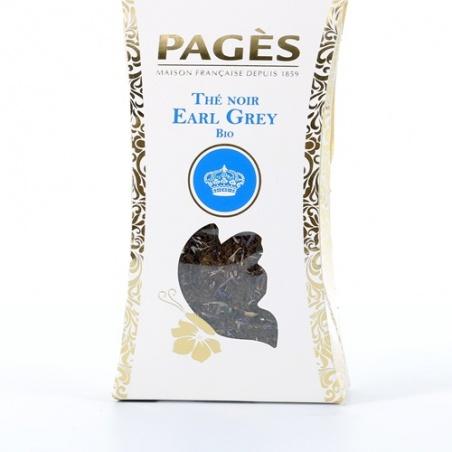Thé Vert VRAC Noir Earl Grey BIO Pagès