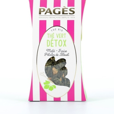 Thé Vert VRAC Détox BIO Pagès