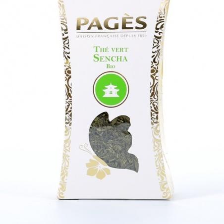Thé Vert VRAC Sencha BIO Pagès