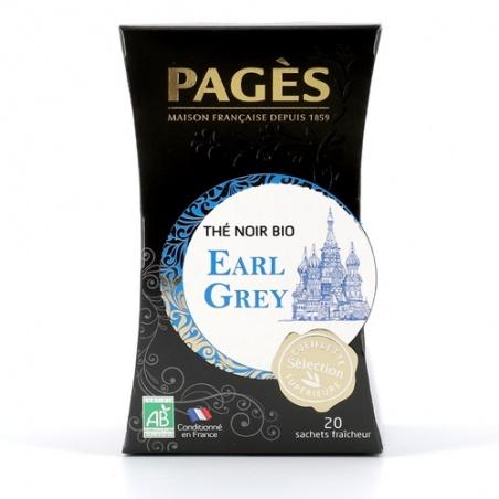 Thé Noir Earl Grey BIO Pagès