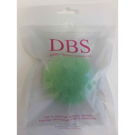 Eponge Visage Konjac Argile Verte DBS Konjac BIO