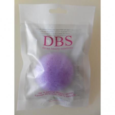 Eponge Visage Konjac à l'Argile Violette DBS Konjac BIO