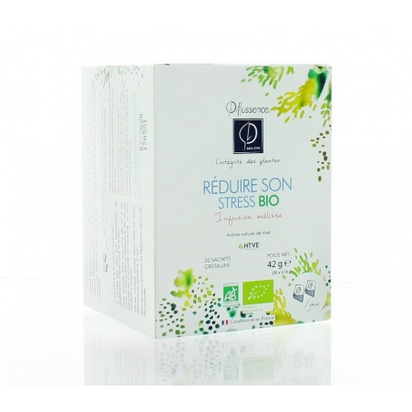 INFUSIONS BIO x 20 Réduire son stress Diffussence