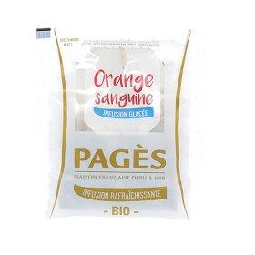 Infusion Rafraichissante DETOX Orange Sanguine BIO Pagès